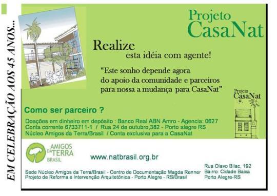 Projeto CASANAT