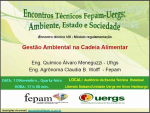 Evento UERGS FEPAM
