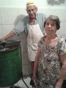 Pai e mãe - foto da Sandra