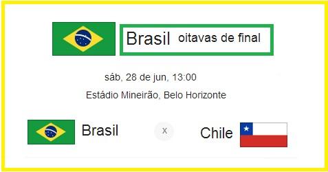 Brasil oitavas de final