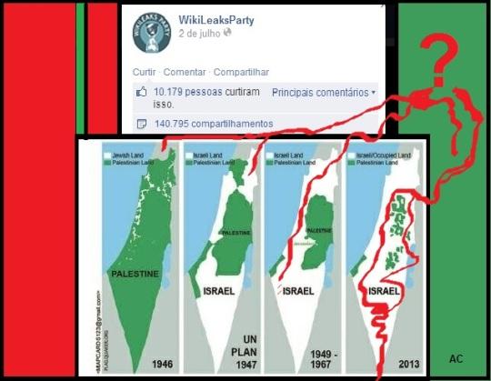 Sobre a Palestina do Wikileaks