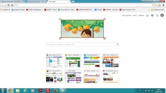 google abertura