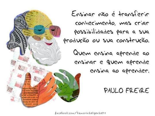 Ensinar Paulo Freire