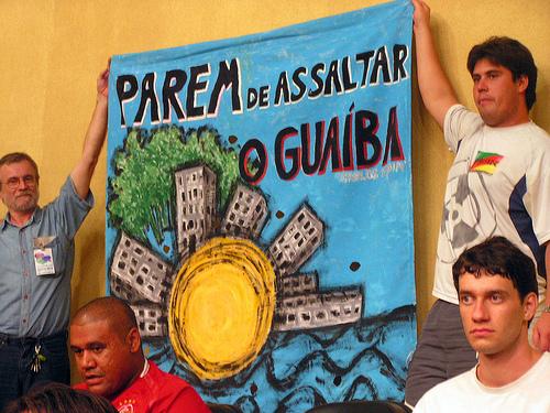 Parem de assaltar o Guaíba