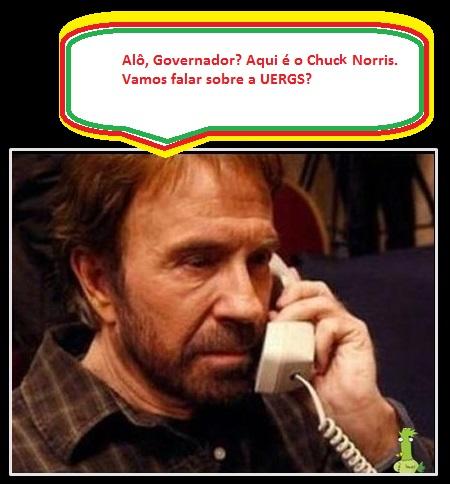Chuck-Norris e a UERGS