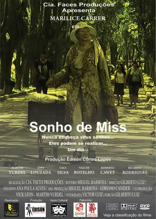 Cartaz Sonho de Miss