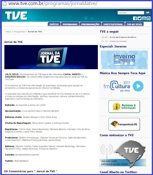 Jornal TVE