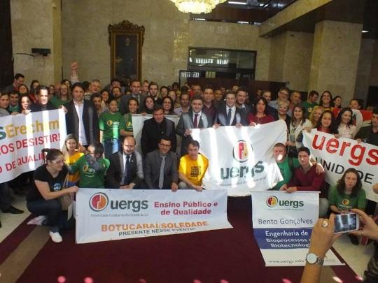 Mobilização pela UERGS