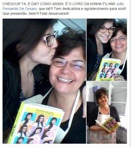 Chegou o livro da Ana De Cesaro