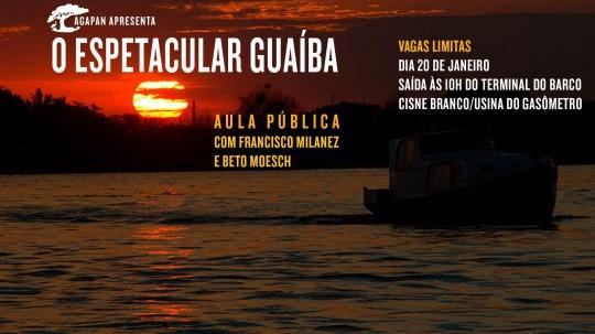 Aula Pública Rio Guaíba AGAPAN