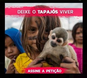 Petição Deixe o Tapajós viver
