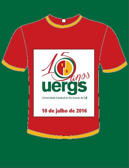 Mais de !0 anos vestindo a camiseta da UERGS