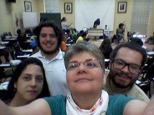 Lisiani Gomes, Luiz Eduardo M.Gomes, Bernardo Mendes, Ana Carolina MS 62 Feira do Livro de POA