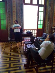 Luiz Eduardo Menezes Gomes na 62 Feira do Livro de POA