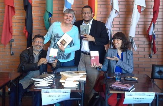 Sérgio Luiz de Souza Costa, Ana Carolina M.S. Ulises Juárez Polanco e Verônica Stigger Lançamentos no III SILLPRO 2016